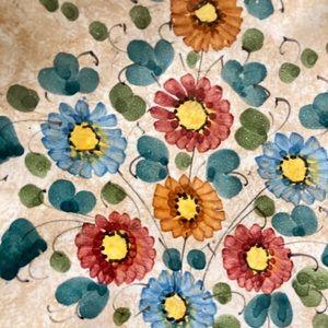 🆕 Vintage Deruta Pottery Decor Dish
